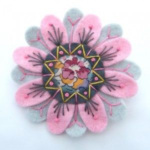 felt brooches patterns