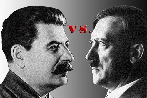 stalin vs. hitler essay Lastly, the essay will conclude by connecting the analysis of hitler's dictatorship to the current debate between historical scholars, therefore the central argument will be proved that hitler personified more competent and constructive leader compared to stalin.